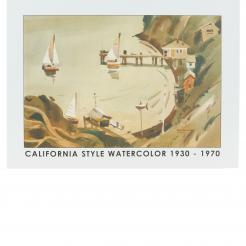 California Style Watercolor 1930 - 1970 | Art Catalog